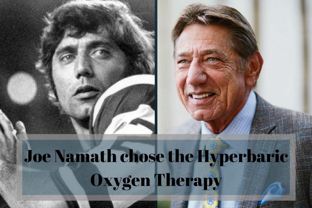 joe namath hyperbaric oxygen therapy