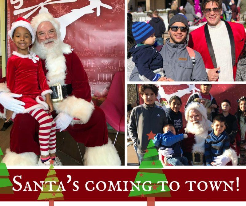 Santa's coming Cobb 2017
