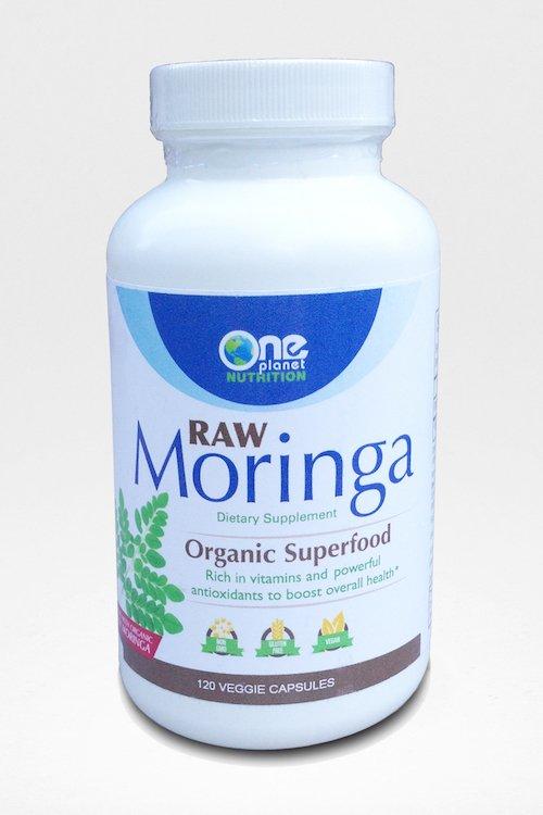 Raw Organic Moringa