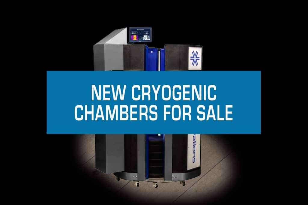 NEW CRYOGENIC CHAMBERS-FOR-SALE