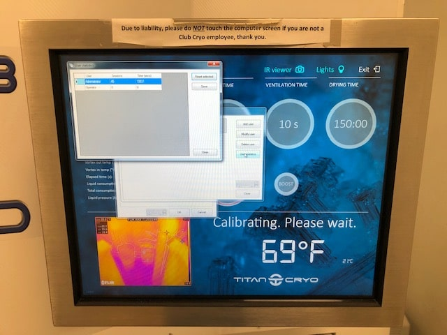 cryo monitor