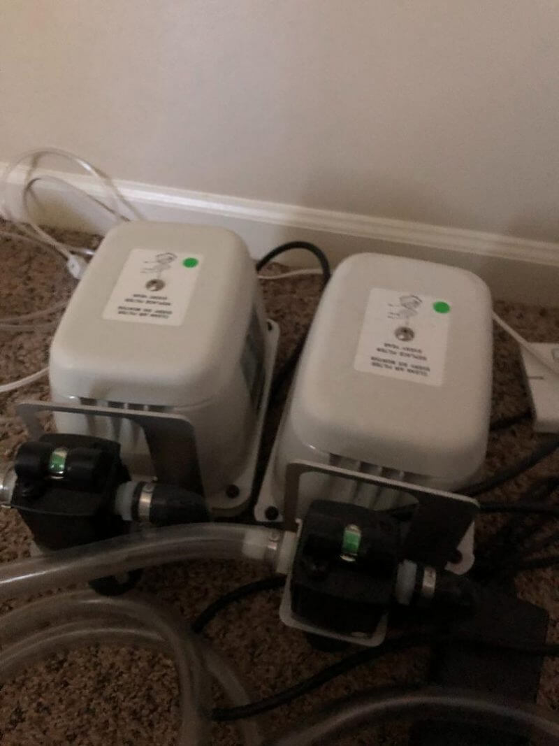 Dual compressors