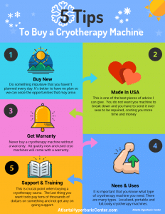 5 tips to buy a cryotherapy machine